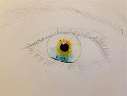 Drawing Eye Eyes Gifs Cool Artist Process