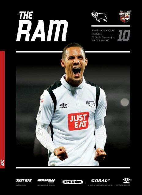 Pin på Derby County FC - The Rams