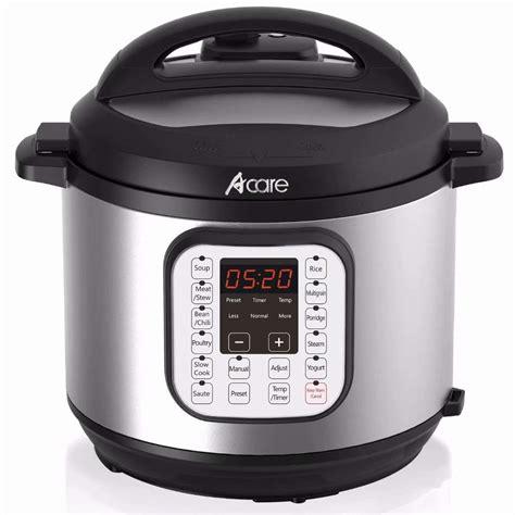 cooker pressure slow fryer deep combination