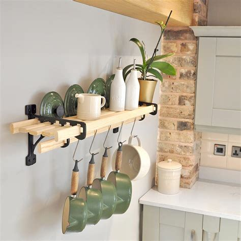 lath kitchen shelf rack shelf racks iron pan racks kitchen pot racks