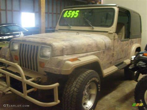 blue camo jeep 1988 camouflage jeep wrangler sport 4x4 4505889 photo 3