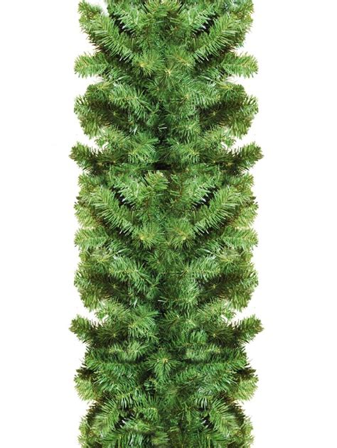 thick balsam pine garland 2 7m garlands wreaths tinsel the christmas warehouse