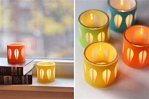 30 diy candle holders ideas that can beautify your room With kitchen colors with white cabinets with do it yourself candle holders