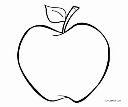 Apple Coloring Pages Printable Apples Cool2bkids Whitesbelfast
