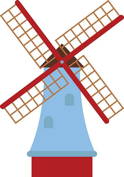 Windmill Clipart Windmill Clip Vector Images Illustrations Istock