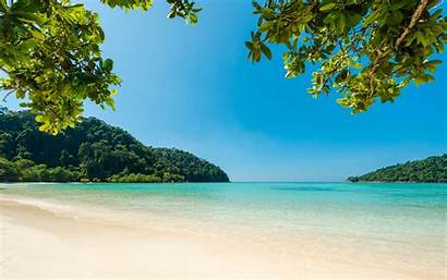 Beach Summer Island Sea Tropical Relaxation Sand