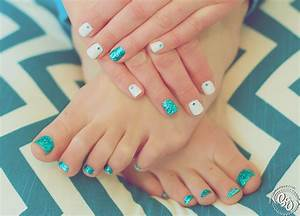Glitter Toes Being Genevieve