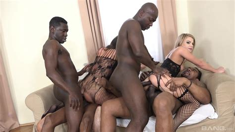 Group Sex With Black Fuckers For Kate Gross And Nataly