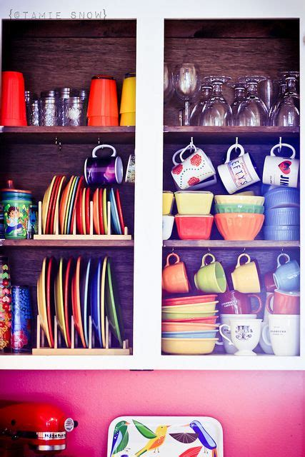 how to organize the kitchen cabinets rainbow cupboards happy colors storage and cupboard 8776