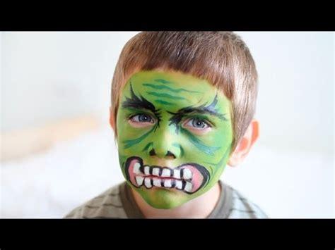 Maquillaje de Halloween para niños: Hulk YouTube
