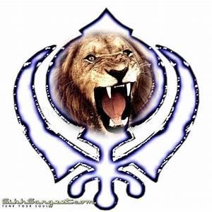 Khanda With Lion Wallpaper | www.pixshark.com - Images ...