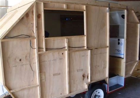 how to build a lightweight cing trailer with