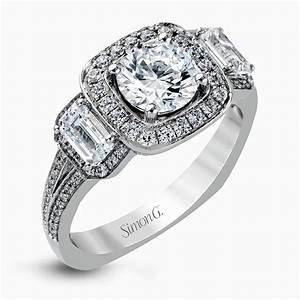 designer engagement rings and custom bridal sets simon g With engagement ring wedding ring