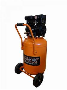 Portable Air Compressor  2 Hp  20 Gallon  Hulk Silent Air