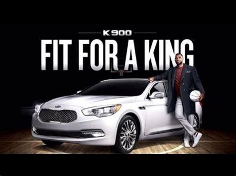 Lebron James 2015 Kia K900 Luxury Car Commercial Nba Youtube