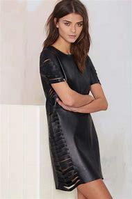Fashion Leather Dress