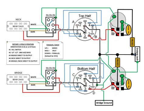 Wiring Diagram For Esp Bass Project All Advise