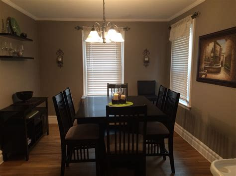 rustic taupe from behr paint dining room behr paint