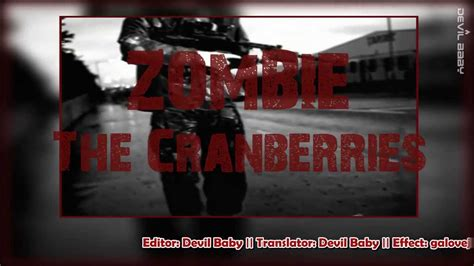 [kara+vietsub] Zombie || The Cranberries