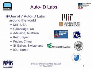 Id Auto : overview of the latest in rfid research at the auto id lab ~ Gottalentnigeria.com Avis de Voitures