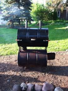 Homemade Barrel Smoker Grills