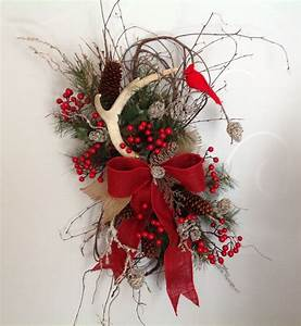 Christmas wreath, winter wreath, Christmas door hanging ...