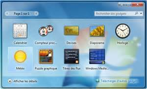 comment installer la m 233 t 233 o sur bureau windows 7
