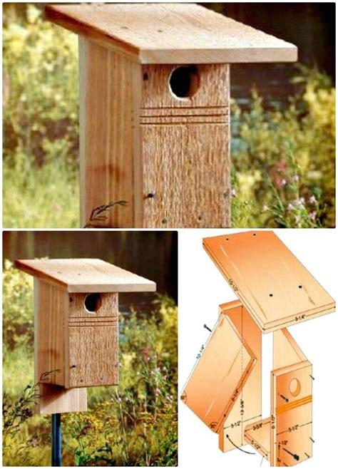 easy  cool diy birdhouse ideas diycraftsguru