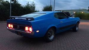 1971 Ford Mustang Mach 1 351 Fastback FOR SALE - Driving and Preview Video! - YouTube