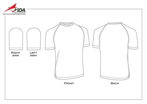 sleeve template avida sportswear