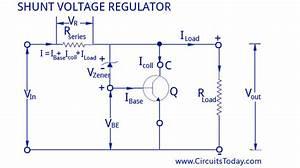 Voltage Regulators Circuits Types Working Principle
