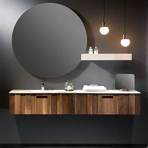 Meuble Salle De Bain 150 : meuble salle de bain noyer 160 200 cm 2 tiroirs valnot ~ Edinachiropracticcenter.com Idées de Décoration