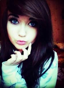 Brown Hair Blue Eyes Hair Style