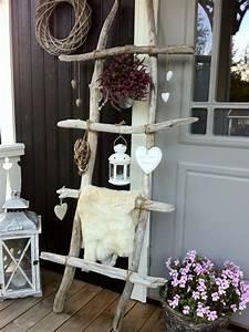 Holz Dekoration Modern : deko hauseingang eingangsbereich pinterest haus leiter und deko ~ Markanthonyermac.com Haus und Dekorationen