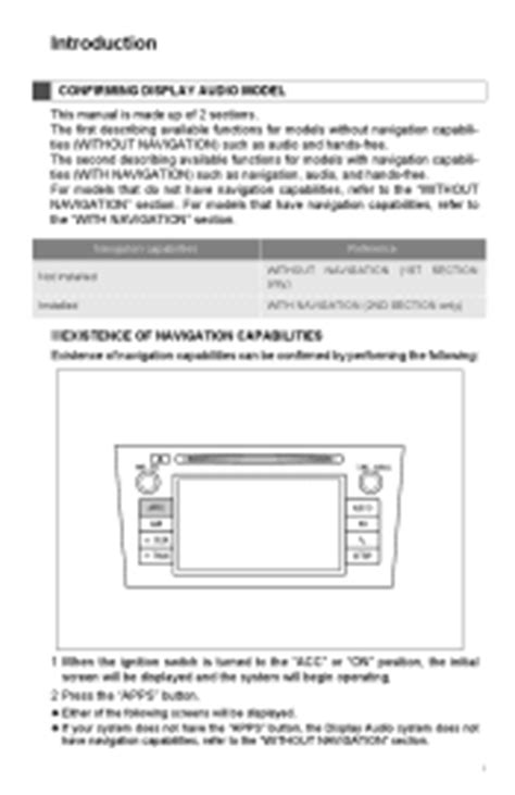 toyota camry manuals
