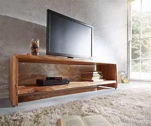 Tv Möbel Lowboard : lowboard live edge 165 cm akazie natur 1 fach baumkante m bel tische fernsehtische ~ Indierocktalk.com Haus und Dekorationen
