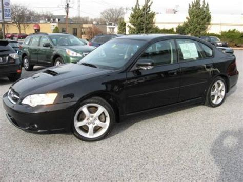 subaru legacy black used 2006 subaru legacy 2 5 gt limited sedan for sale