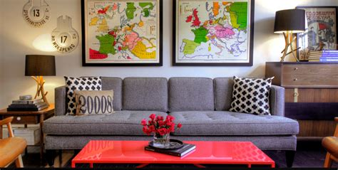 Home Decor Guide : Great Ways To Make Use Of The Space Behind The Couch For