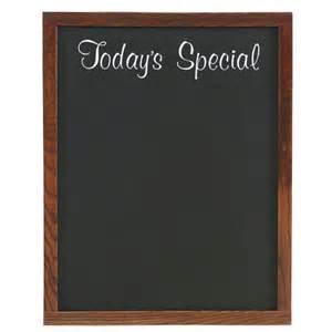Blank Chalkboard Menu Boards