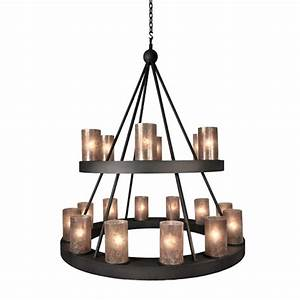 Montecito 2 Tier Candle Chandelier