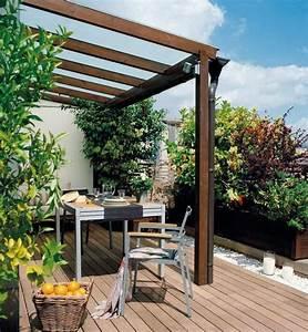 amenagement petit jardin 99 idees comment optimiser l39espace With superior amenagement de terrasse exterieur 7 deco salon moderne