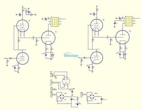 Tube Amplifier Kits Pcba Board Steteo Power Stage