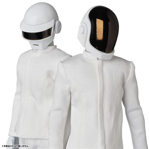 Real Action Heroes No.734 RAH DAFT PUNK (WHITE SUITS Ver ...