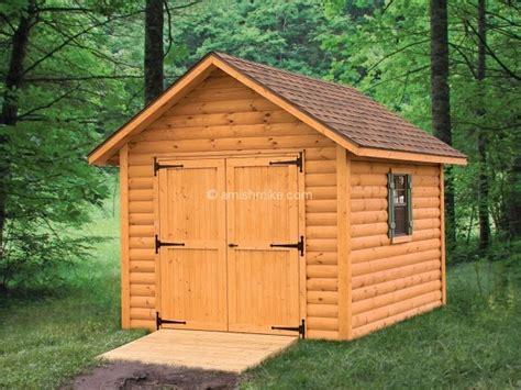 log cabin shed log cabin heritage sheds amish mike amish sheds amish