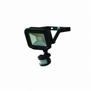 Luceco w led floodlight with pir motion sensor security