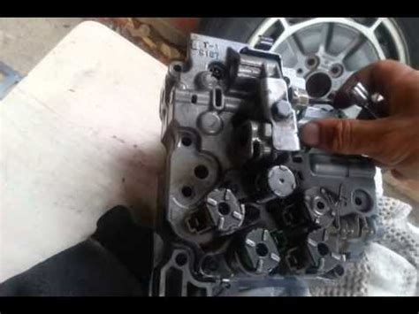 aw sn valve body  assembly youtube