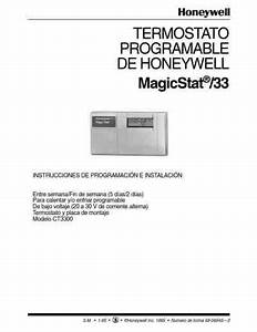 Honeywell Magicstat 33 Central Heating Download Manual For
