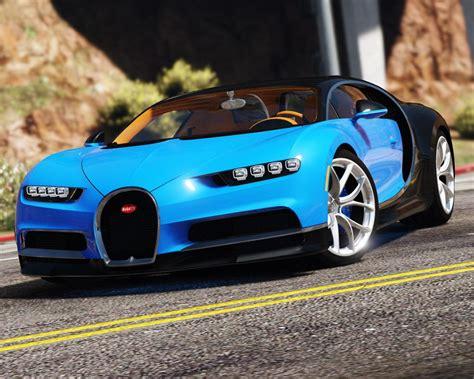 2017 Bugatti Chiron (retexture) [add-on / Replace