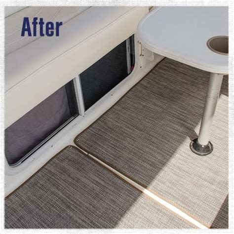 How To Carpet A Boat by How To Replace Boat Carpet With Woven Flooring Boat