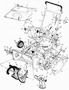 Mtd 180-092 Parts List And Diagram